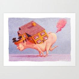 Fart House Art Print