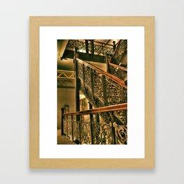 Monadnock Staircase Framed Art Print