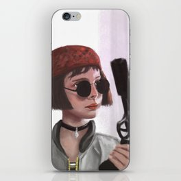 Mathilda iPhone Skin