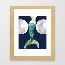 Mermie Framed Art Print