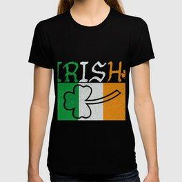 Irish Flag Vintage St Patricks Day T-shirt