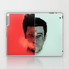 Tyler Durden V. the Narrator Laptop & iPad Skin