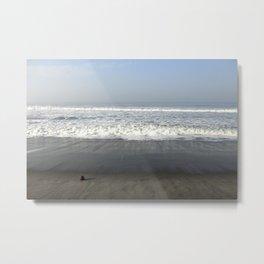 Smooth Sands Metal Print