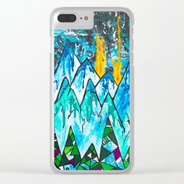 Fire on the Mountain  Clear iPhone Case