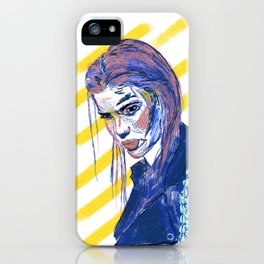 Girl Gang: Go Away iPhone Case