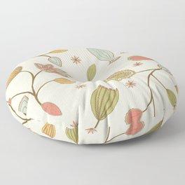 Mehndi Flower Floor Pillow