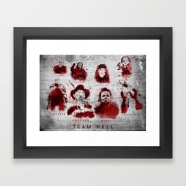 Team Hell Framed Art Print