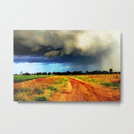 Out back Australia Metal Print