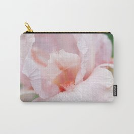 Pink Iris Carry-All Pouch