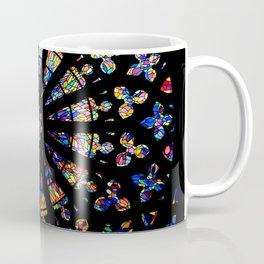 Church stained glass windows colors Coffee Mug