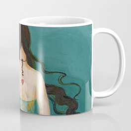 Mermaid Girl in the Midway, or She Knows Without Knowing Coffee Mug