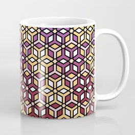 Geometric Sunset Coffee Mug