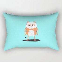 Happy Halloween Skull Cat T-Shirt D3lc2 Rectangular Pillow