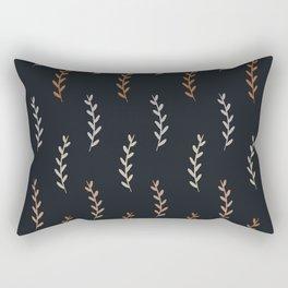 Fall Shades Dark Rectangular Pillow