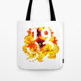 Flower 1992 Tote Bag