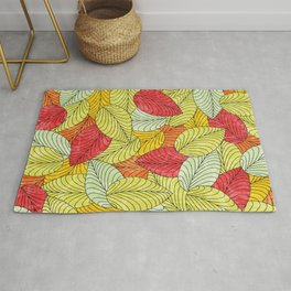 Let the Leaves Fall #10 Rug
