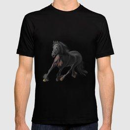 Drawing horse T-shirt