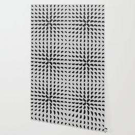 Half Moon Pattern Wallpaper