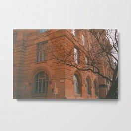 Budapest Architecture Metal Print