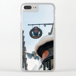 Owl Post Clear iPhone Case