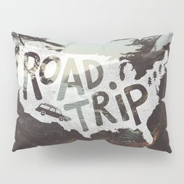 Road Trip USA - big sur Pillow Sham