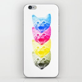 CMYKat iPhone Skin