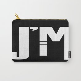 I'M JIM (white) Carry-All Pouch