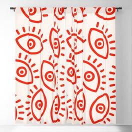 Eye Pattern Blackout Curtain