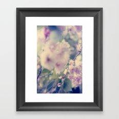 Innocent Pink Framed Art Print