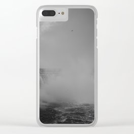 Power of water Clear iPhone Case
