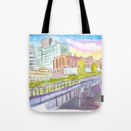 Highline Park New York City Walk Tote Bag