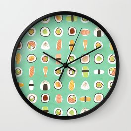 fish are food, not friend Wall Clock