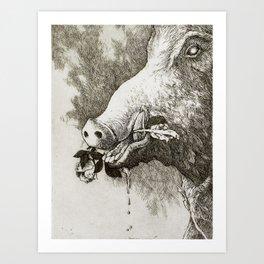 Il Porcellino di Mercato Nuovo Art Print