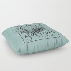 Time For Adventure Floor Pillow