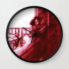 """Paul-Albert Besnard """"Love"""" (I) Wall Clock"""