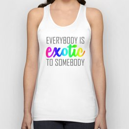 Exotic-rainbow Unisex Tank Top