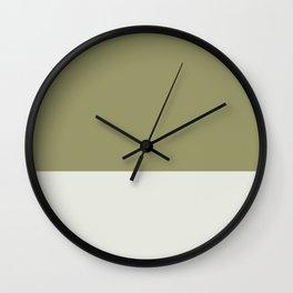 OLIVE x BONE Wall Clock