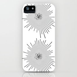 Holy Flower iPhone Case