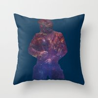 starlord Throw Pillows featuring Starlord, Legendary Outlaw? by ItsSabYo