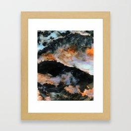 2077 Framed Art Print