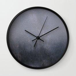 starlight glitter forest Wall Clock