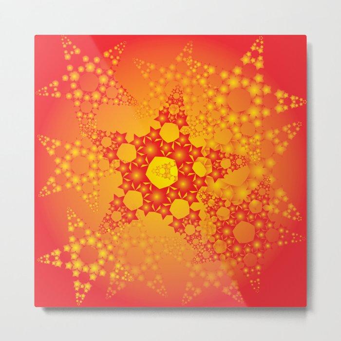 Twinkle stars Metal Print