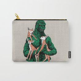 Fawns Meet Kaiju Carry-All Pouch