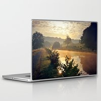 cows Laptop & iPad Skins featuring Dawn Cows =) by Mark Bagshaw Photography