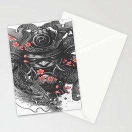 Sleeve tattoo Samurai Irezumi Stationery Cards