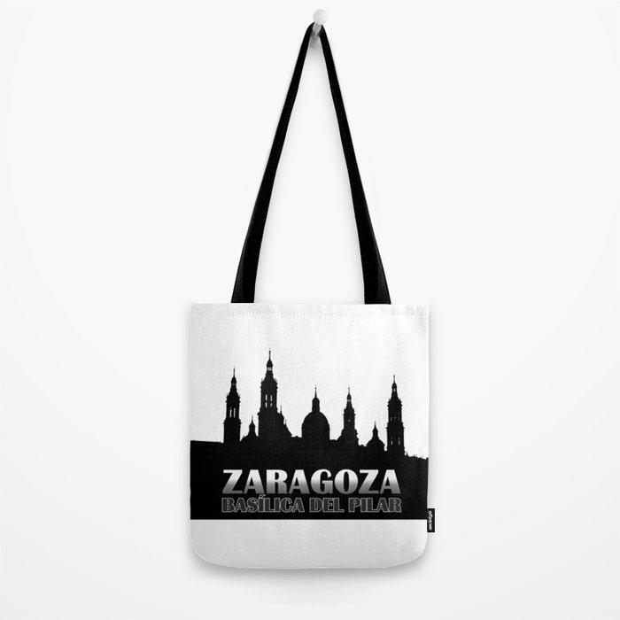 La Basílica del Pilar de Zaragoza Tote Bag