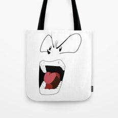 Angry woman Tote Bag