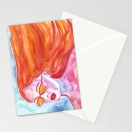 California Girl Stationery Cards