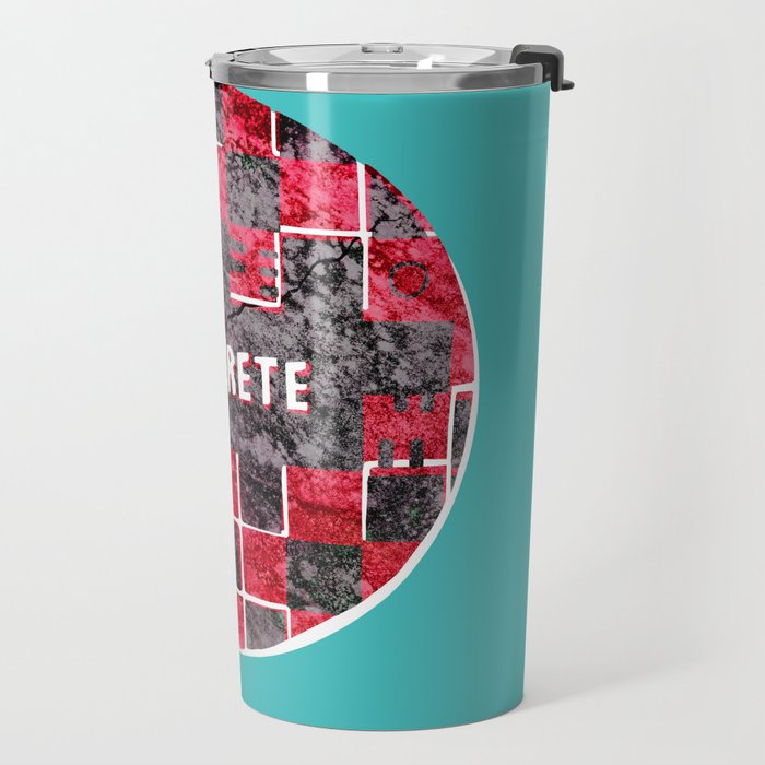 Concrete Ball Travel Mug