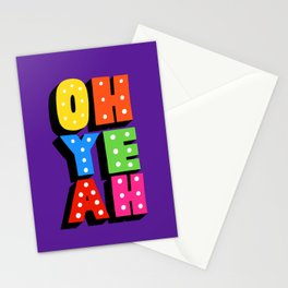 oh he ah Stationery Cards
